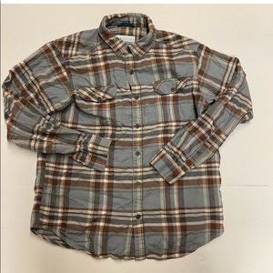 Columbia Sportswear Mens Flannel Shirt Size M